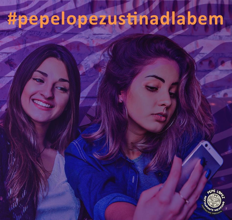 Do 20.07.2018 - Pochlub se nám se svými fotkami! Vyfoť se u nás, označ Pepe Lopez a zařaď tak svoji fotku do galerie v appce!  Pokud ještě appku nemáš, stahuj na WWW.  Do 15. 8. probíhá v aplikaci anketa, po jejímž vyplnění máš možnost získat voucher na 500 Kč v pobočce Pepe LopezPochlub se nám se svými fotkami! Vyfoť se u nás, označ Pepe Lopez a zařaď tak svoji fotku do galerie v appce!  Pokud ještě appku nemáš, stahuj na WWW.  Do 15. 8. probíhá v aplikaci anketa, po jejímž vyplnění máš možnost získat voucher na 500 Kč v pobočce Pepe Lopez