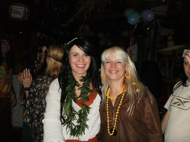 Silvestr 2011 Hippies